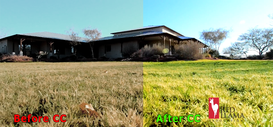 Arizona real estate Color Correction